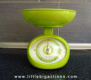 peso cocina