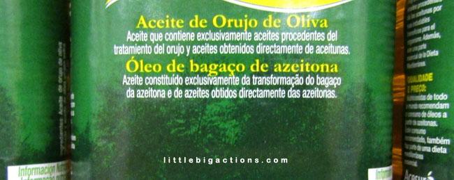 aceite orujo