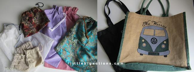 Mis bolsas de tela