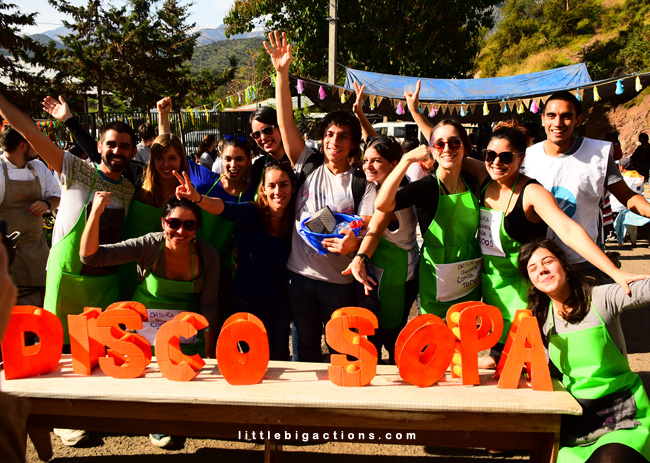 Voluntarios de Disco Sopa
