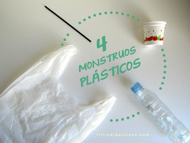 monstruos plásticos